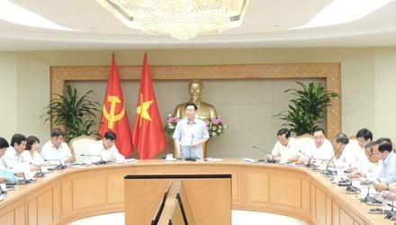 Phó thủ tướng Vương Đình Huệ chủ trì họp Ban Chỉ đạo Trung ương các chương trình mục tiêu quốc gia - ảnh 1