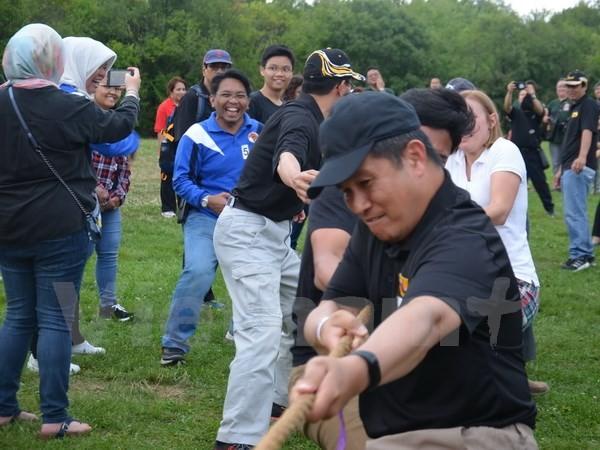 Sôi nổi ngày hội giao lưu thể thao và ẩm thực ASEAN tại Canada  - ảnh 1