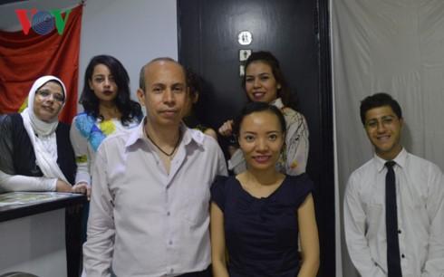 Nhà hàng mang tên Hồ Chí ở Ai Cập tôn vinh Chủ tịch Hồ Chí Minh - ảnh 2
