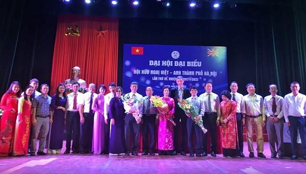 Đại hội đại biểu Hội hữu nghị Việt - Anh thành phố Hà Nội lần thứ III - ảnh 1
