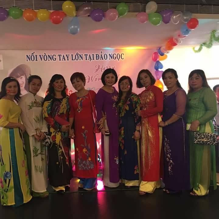 Gặp gỡ chào mừng Ngày Phụ nữ Việt Nam tại Đài Loan (Trung Quốc) - ảnh 7