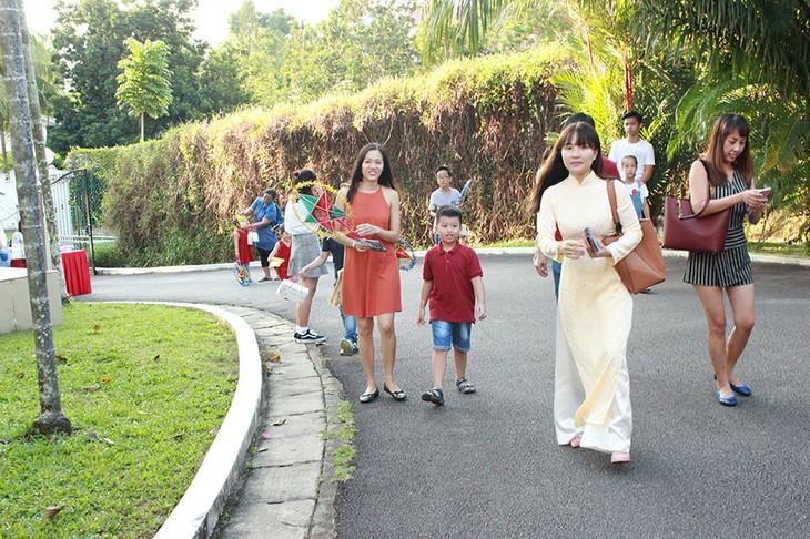 Tết Trung thu đậm bản sắc Việt tại Singapore - ảnh 5