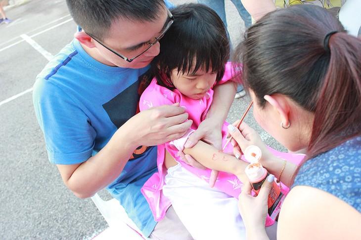 Tết Trung thu đậm bản sắc Việt tại Singapore - ảnh 8