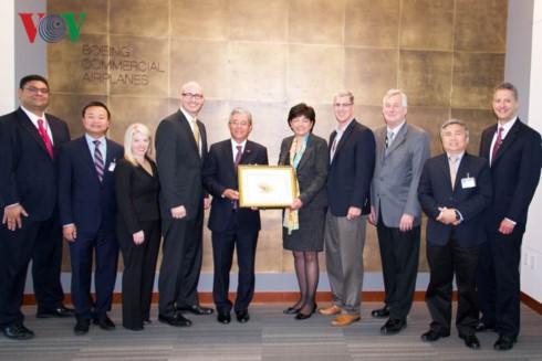 Đại sứ Việt Nam tại Hoa Kỳ Phạm Quang Vinh thăm, làm việc với doanh nghiệp tại bang Washington - ảnh 2