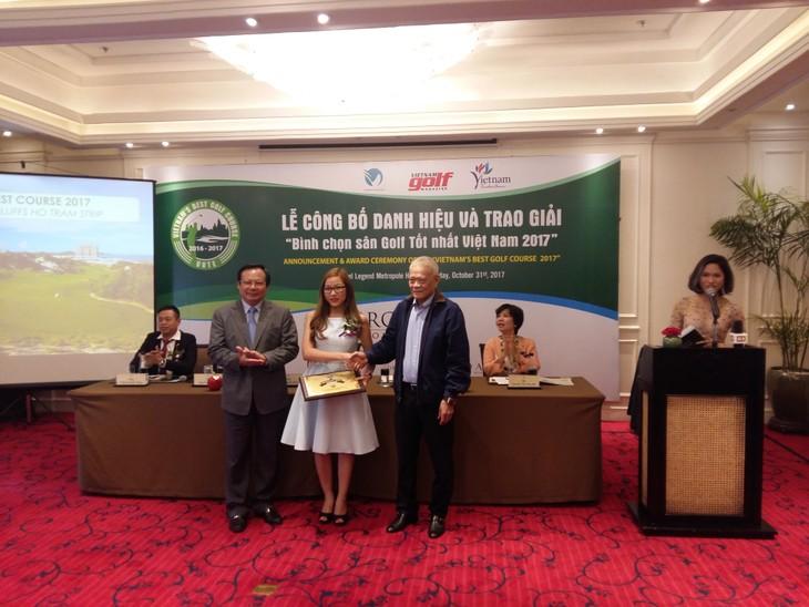 Trao giải sân golf tốt nhất Việt Nam năm 2017 - ảnh 1