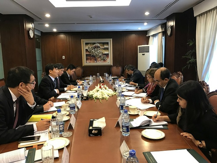 Kỳ họp Tham khảo Chính trị lần thứ hai giữa Việt Nam và Pakistan - ảnh 1