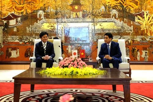 Hà Nội thúc đẩy hợp tác với Nhật Bản trong lĩnh vực môi trường - ảnh 1