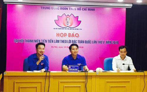 336 đại biểu tham dự Đại hội Thanh niên tiên tiến làm theo lời Bác lần thứ V - ảnh 1