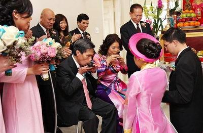 Đám cưới của người Kinh - ảnh 4