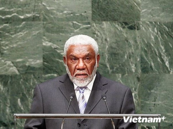 Thủ tướng Vanuatu thăm chính thức Việt Nam - ảnh 1