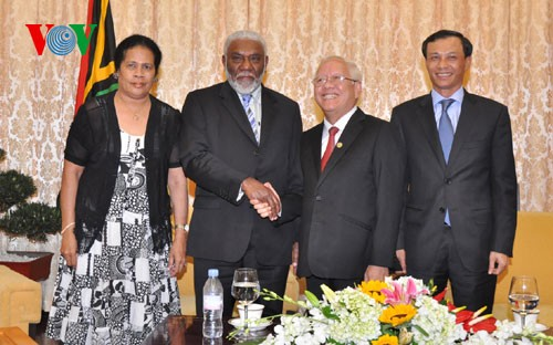 Đoàn Thủ tướng nước Cộng hòa Vanuatu thăm Thành phố Hồ Chí Minh - ảnh 1