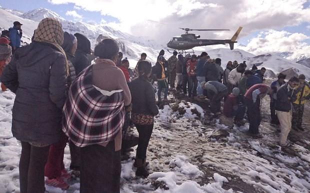 Một công dân Việt Nam thiệt mạng trong trận bão tuyết tại Nepal  - ảnh 1