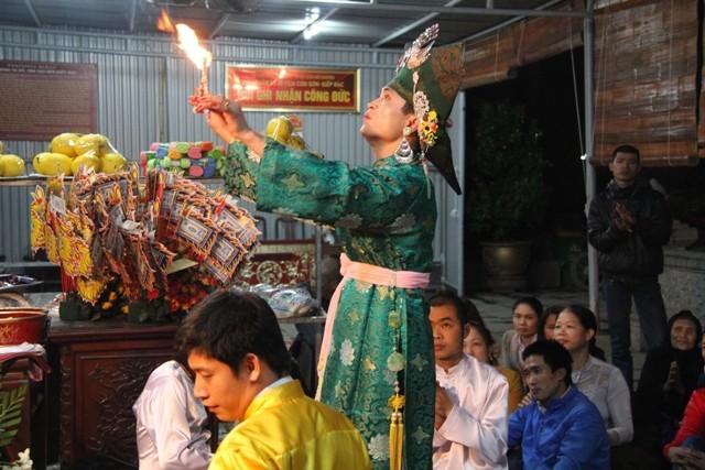 Gần 250 nhóm chầu văn dự Liên hoan văn hóa tín ngưỡng thờ Mẫu - ảnh 1