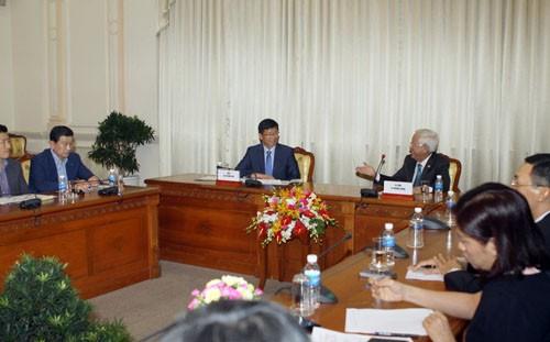 Thành phố Hồ Chí Minh và thành phố Gimpo - Hàn Quốc tăng cường hợp tác phát triển - ảnh 1