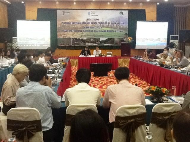 Đầu tư cho ứng phó với biến đổi khí hậu tại Việt Nam - ảnh 1