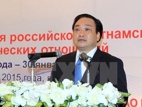 Kỷ niệm 65 năm thiết lập quan hệ ngoại giao Việt Nam-Liên bang Nga - ảnh 1