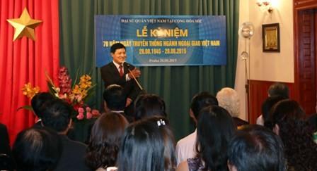 Kỷ niệm 70 năm ngày thành lập ngành ngoại giao Việt Nam tại các nước - ảnh 1