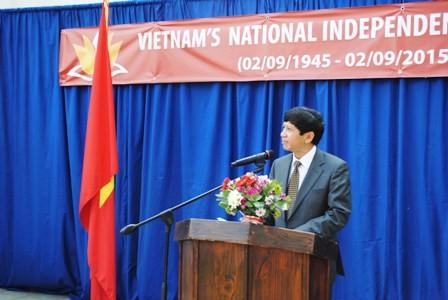 Kỷ niệm 70 năm quốc khánh Việt Nam tại Nam Phi - ảnh 1