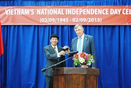 Kỷ niệm 70 năm quốc khánh Việt Nam tại Nam Phi - ảnh 4