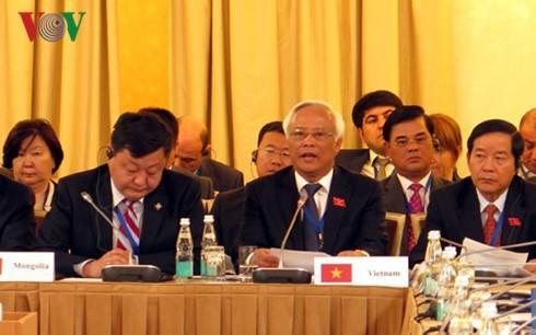 Hội nghị Đối tác nghị viện Á - Âu IX khẳng định cam kết duy trì hòa bình và an ninh, tự do hàng hải - ảnh 1
