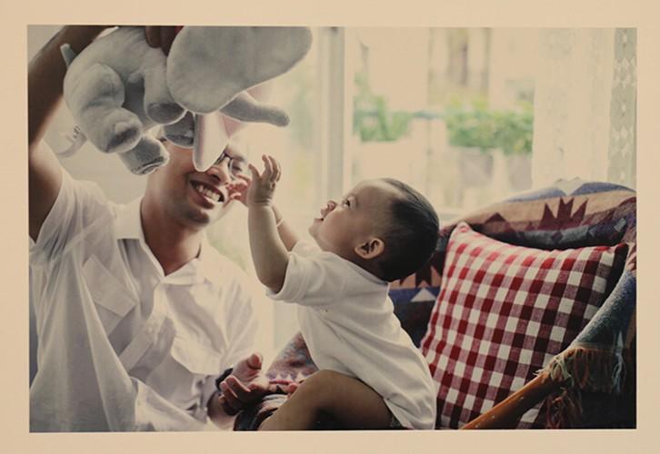Chiêm ngưỡng khoảnh khắc tuyệt vời của những ông bố Việt Nam - ảnh 4