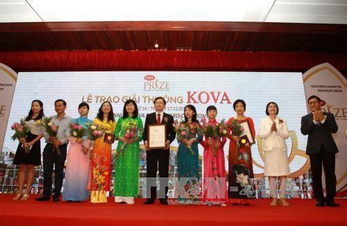 Giải thưởng Kova lần thứ 14 – Tôn vinh sự sáng tạo và cống hiến của sinh viên - ảnh 1