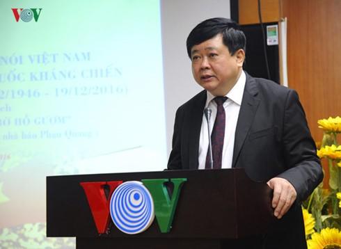 Đài Tiếng nói Việt Nam kỷ niệm 70 năm ngày toàn quốc kháng chiến - ảnh 2