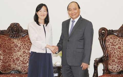 Thủ tướng Nguyễn Xuân phúc tiếp Tổng Giám đốc điều hành Tập đoàn Bảo Thành (Đài Loan, Trung Quốc) - ảnh 1