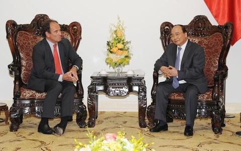 Thủ tướng Nguyễn Xuân Phúc tiếp Tổng Thư ký Tòa Trọng tài thường trực - ảnh 1