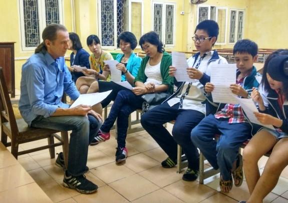 Lớp học tiếng Anh của cựu binh Mỹ - ảnh 2