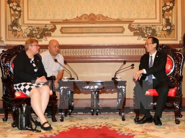 Thành phố Hồ Chí Minh và CHLB Đức thúc đẩy hợp tác trong lĩnh vực công nghệ cao và năng lượng - ảnh 1