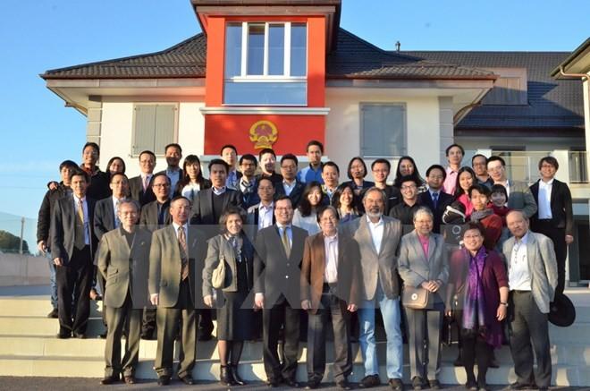Nâng cao vai trò của trí thức trẻ người Việt tại Thụy Sĩ  - ảnh 1