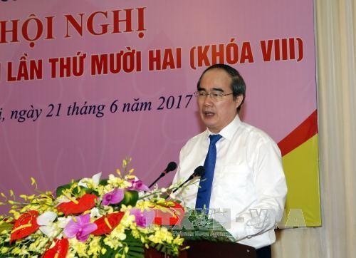Thông qua Tờ trình về hiệp thương cử Chủ tịch Ủy ban Trung ương MTTQ Việt Nam - ảnh 1