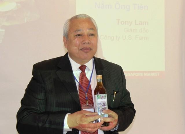 """Ông Tony Lâm: """"Nông nghiệp công nghệ cao sẽ góp phần cải thiện sức khỏe của người dân"""" - ảnh 1"""
