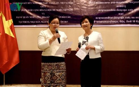 Việt Nam - Lào tổ chức giao lưu văn hóa tại Nhật Bản - ảnh 2