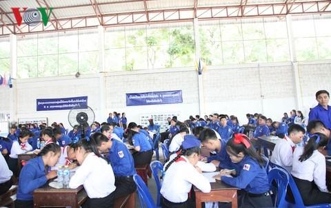Lào nâng cao nhận thức cho giới trẻ về quan hệ Lào -Việt Nam - ảnh 1