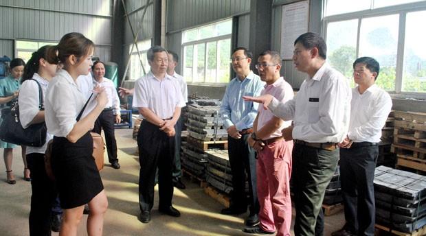 Đoàn đại biểu Châu ủy Châu Văn Sơn tỉnh Vân Nam, Trung Quốc, thăm và làm việc tại tỉnh Hà Giang - ảnh 1