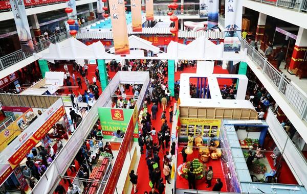 Hình ảnh Năm Du lịch Quốc gia là điểm nhấn tại Hội chợ thương mại Quốc tế Việt - Trung 2017 - ảnh 1
