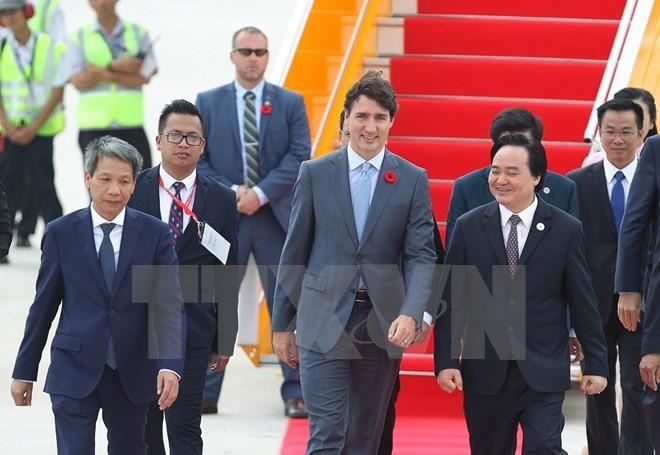 Báo chí Canada đưa tin đậm nét về chuyến thăm Việt Nam của Thủ tướng Trudeau  - ảnh 1