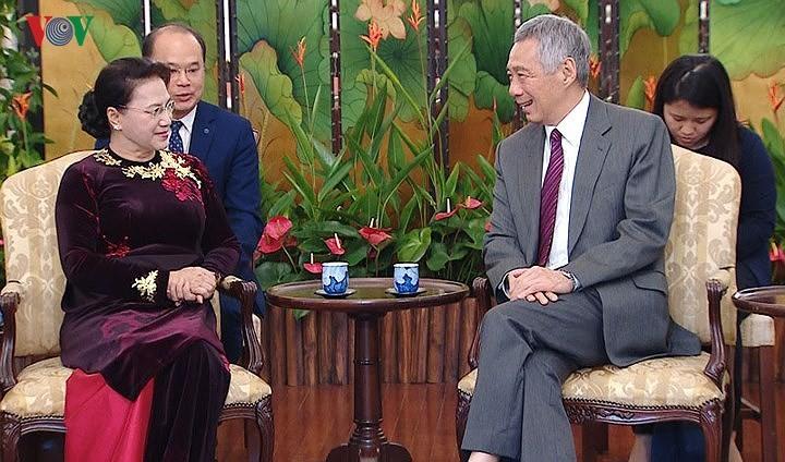 Chủ tịch Quốc hội Nguyễn Thị Kim Ngân kết thúc chuyến thăm chính thức Singapore, Australia - ảnh 1
