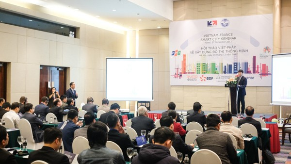 Việt Nam và Pháp chia sẻ kinh nghiệm xây dựng đô thị thông minh  - ảnh 1