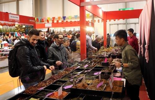 Doanh nghiệp Việt Nam tham dự Hội chợ Thủ công mỹ nghệ tại Italy - ảnh 1