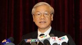Party leader Nguyen Phu Trong receives Cuban ambassador  - ảnh 1