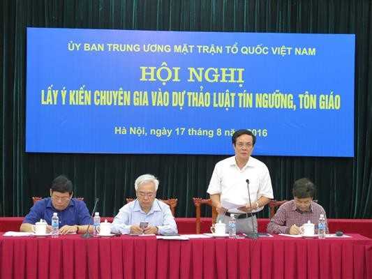 Protecting citizens' right to freedom of religion or belief - ảnh 1