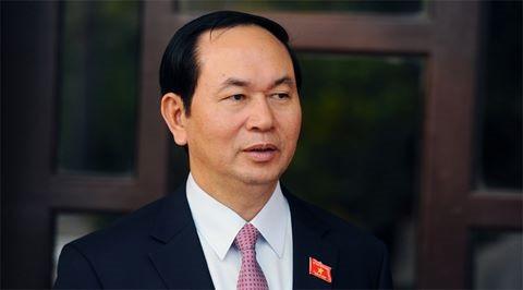 President Tran Dai Quang to visit Brunei, Singapore - ảnh 1