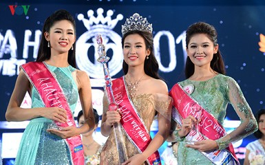 Do My Linh crowned Miss Vietnam  - ảnh 1