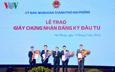 Hai phong takes the lead in attracting foreign investment  - ảnh 1
