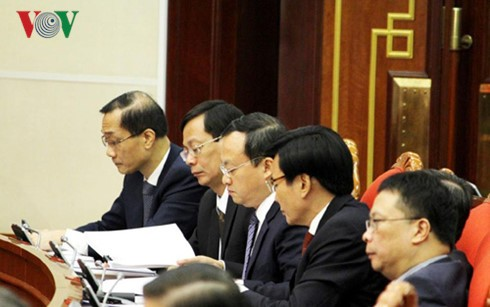 4th working day of the 4th plenum of the 12th Party Central Committee - ảnh 1