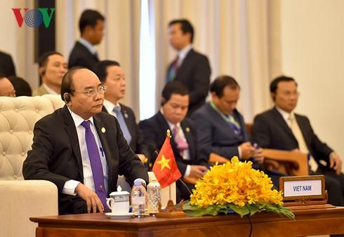 Cambodia-Laos-Vietnam Development Triangle Area Summit opens - ảnh 1