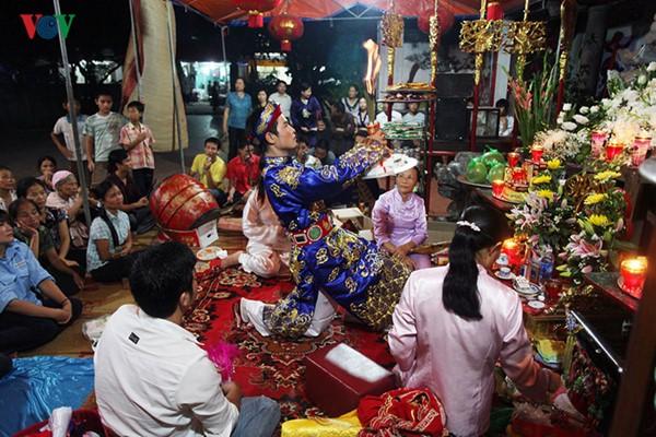 Mother Goddess worship reflects the Vietnamese folk culture  - ảnh 1